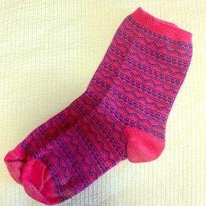 J. Crew Patterned Socks